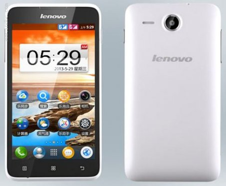 Lenovo A529 Smartphone With 5inch Display and 1.3GHz Dual Core