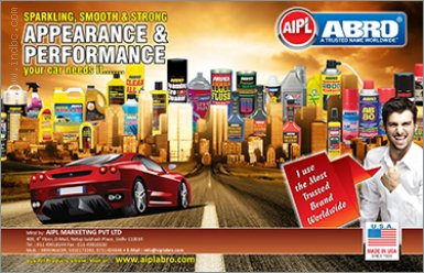 Abro-Car care products India