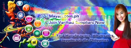 Join Verified Manufacturers, Wholesalers and Suppliers in B2B, here in the Philippines