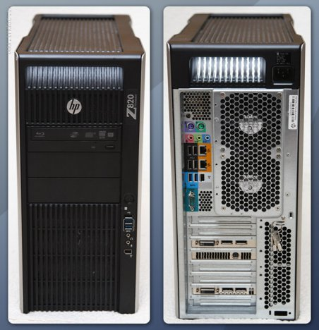 HP Z820 Intel Xeon Workstation Rental Bangalore