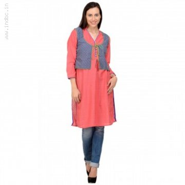Become Fashionable & Trendy With Ravishing Jacket Kurtis From IndiaRush