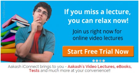 IIT JEE online courses, Online JEE classes - Aakash iConnect