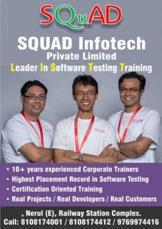 SQUAD Infotech Leaders In Software Testing
