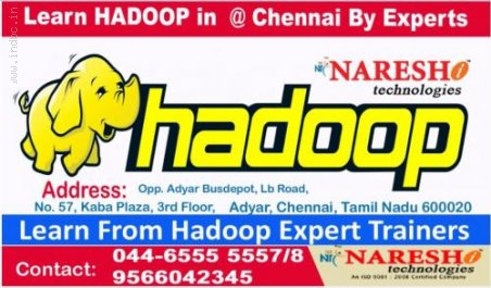 Hadoop Training in Chennai-Hadoop Training in Adyar