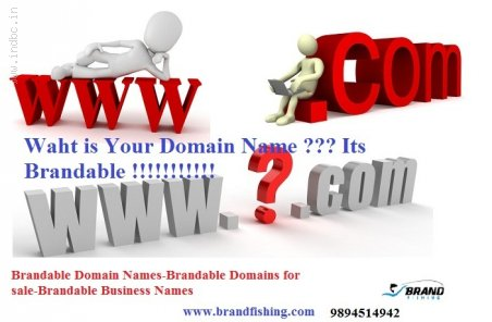 Brandable Domains for sale