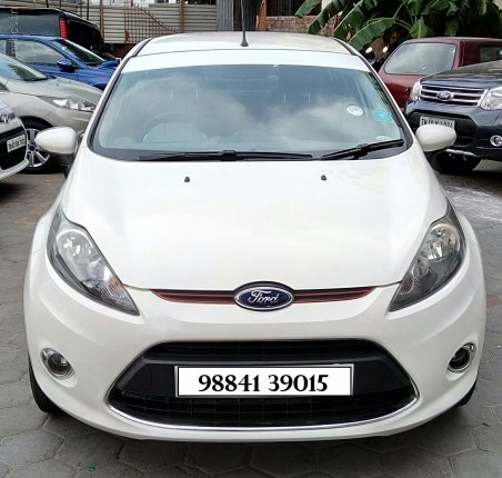 2012 Ford Fiesta Topend Titanium Diesel 63000km run Single owner