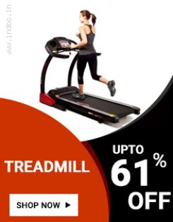 HURRY UP! Avail 61% OFF on Healthgenie Treadmill