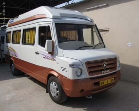 Get Most Affordable Price for 17 Seater Tempo Traveller on Hire