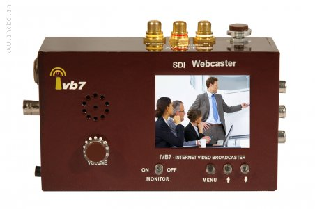 Ivb7 HD/AV Premium Webcaster with Monitor