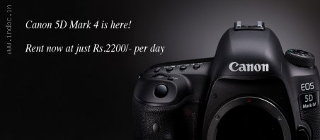 DSLR camera rental in Bangalore | Qwikgear.com