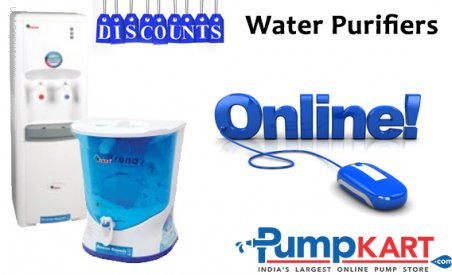Discounts on Water Purifiers Online at Pumpkart.com