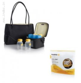 Carry breastmilk safely and neatly even when you are on the go