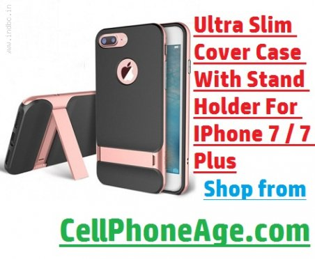 Cover Case with Holder Stand for iPhone 7 Plus