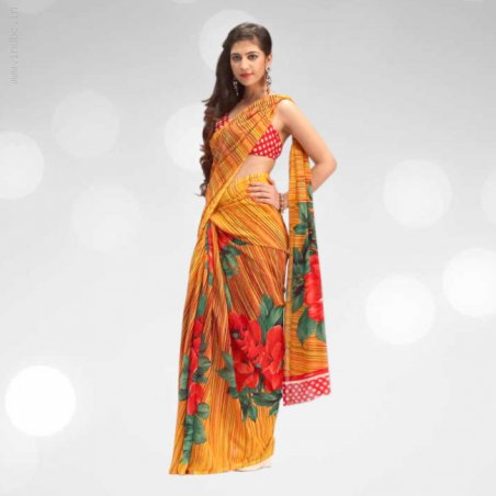 9 Stylish Designer Sarees Combo Only Rs.2999/- from Teleshop