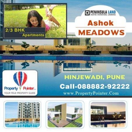 3BHK Flats For sale - Ashok Meadows Hinjewadi Pune , 8888292222