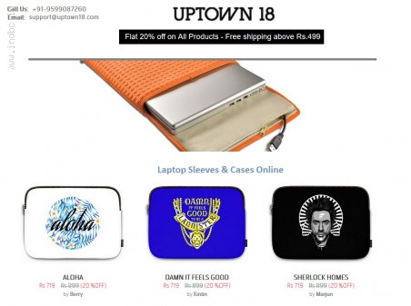 Get a Funky Laptop Sleeve and Move in Style