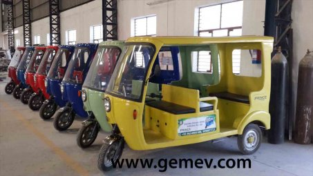 GEM E Rickshaws and Electric Vehicles
