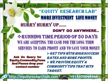 FREE TRADING TIPS |equityresearchlab|